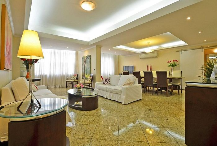 Huge and luxurious apartment in Copacabana for 7 persons!